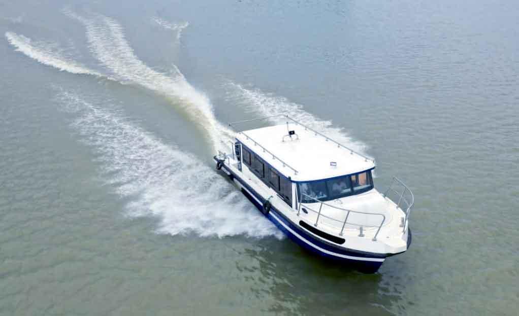 GRP_High_speed_boat